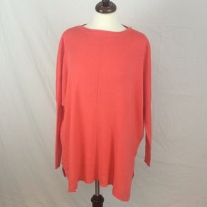 Ted Baker Coral Oversized Angora Sweater Batwing